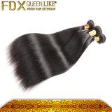 未加工バージンの毛の織り方の製造業者の毛ブラジルのまっすぐな4束の