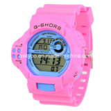 Modificar Logo para requisitos particulares Highquality 3ATM Waterproof LCD Digital Electronic Watch