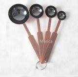 台所ツールの炊事用具のステンレス鋼の測定スプーン