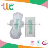 Serviettes hygiéniques de femmes avec des produits de garniture sanitaire d'anion
