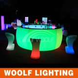 현대 LED Lighting Straight와 Corner Bar Furniture