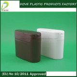 spezieller Entwurf 60ml HDPE Plastik mit Kippen weg von der Schutzkappe
