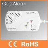 Detector de gas independiente doméstico de la alarma de gas de Peasway (PW-936)