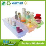 Organizador transparente colorido rectangular del almacenaje de congelador de la cocina