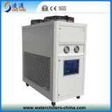 refrigerador de agua refrescado aire de la voluta 2ton para el sistema de la refrigeración por agua