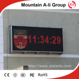 Text Display Advertizing를 위한 P10 Red Single Color LED Modules
