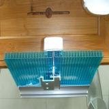 strato della serratura del policarbonato U di 10mm per tetto