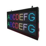 Doppia riga visualizzazione di colori P7.62 sette del LED