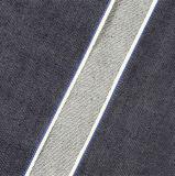 ткань 10474 джинсыов джинсовой ткани хлопка Selvedge черноты высокого качества 13.36oz