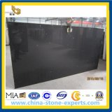 Black di cristallo Quartz Stone Slab per Kitchen Countertop (YYAZ)