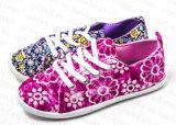2016 горячих ботинок холстины малышей сбывания для девушок (RF16178)