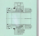 Guarnizione meccanica non standard per industria di fabbricazione della carta (HT1)