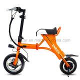 2-wiel Mini Gevouwen Elektrische Autoped met 50km Afstand in mijlen