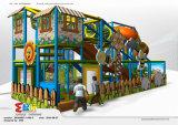 Парк атракционов шаржа опирающийся на определённую тему крытый для детей