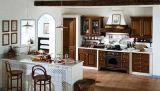 Dessus de marbre blanc de vanité de partie supérieure du comptoir de cuisine de Cararra