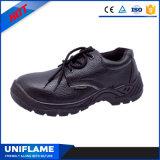 Кожаный ботинки работы Ufb011 безопасности людей