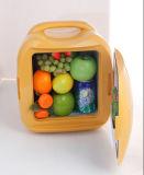 Mini réfrigérateur électronique 8liter DC12V, AC100-240V avec le refroidissement et le chauffage pour l'usage de véhicule, de bureau ou de maison