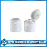 24 tampões superiores de 410 aletas para o frasco plástico