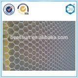 Matériaux en aluminium d'âme en nid d'abeilles pour la construction