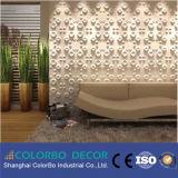 Décoration en bois de panneau de mur de maison de fond de la qualité 3D