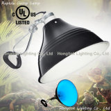 "UL Terrarium Reptile Lamp de 150W E27 8.5 "" com Clamp Glow Light"