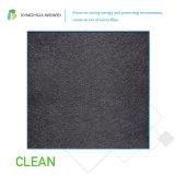 Tejido negro de la fibra de vidrio, cubierta de las lanas de cristal, tejido de la fibra de vidrio para las lanas de cristal