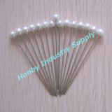 55mm Fashion Round Plastic Pearl Head Pins pour Hijab Decoration