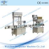 Máquina tampando de enchimento automática linear da lavagem de frasco