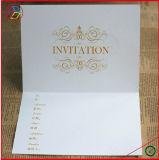 Tarjeta del saludo y de la invitación para la boda o el festival