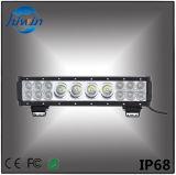 Barre combinée légère d'éclairage LED pour le guide optique de lumens élevés de pouce 76W de Suvs Utvs Offroads 13.5 de camions de jeeps