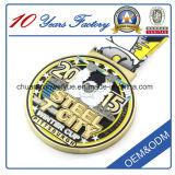 Alta calidad de encargo Precio más bajo medalla de oro con esmalte suave