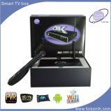 Caixa de venda quente da tevê do Android de 3D e de 4k F8 melhor com Amlogic S812