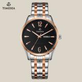 Vigilanza 70020 delle coppie dell'orologio della parte posteriore dell'acciaio inossidabile della cassa per orologi dell'oro della Rosa