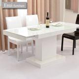 現代家具(CZ016A#)の白いカラー食堂の家具