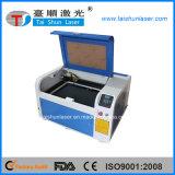 Mini máquina de grabado de cuero del laser del CO2 50W de la talla 6040