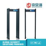 Detectores de metales llanos de la seguridad de Scaner de la carrocería de las escuelas del detector 200 multizonases del marco de puerta