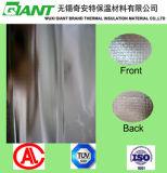Papel de aluminio lateral doble con la tela tejida el PE