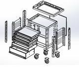 Шкаф инструмента 6 ящиков сверхмощный пустой (FY22)