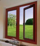 Ventana de aluminio termal del marco de /Aluminum de la ventana de la inclinación y de la vuelta de la ventana de aluminio de la rotura