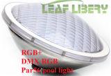La piscina caliente del blanco PAR56 LED enciende luces ligeras subacuáticas impermeables del político de la natación IP68