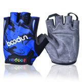 Nouveau demi de gant de cycle du doigt 2014, gants de recyclage de doigt court