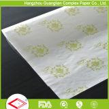 papel coloreado imprimible de envasado de alimentos del papel impermeable a la grasa 40g