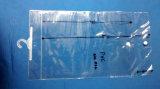 Contenitori trasparenti del PVC con il gancio e lo schiocco di plastica