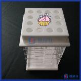 Houder van de Lippenstift van de Producten van de Leverancier van China de Nieuwe Gekenmerkte Acryl Spinnende