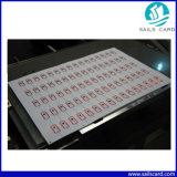 Mf 1k RFID Card Making Inlay Sheet con Different Layouts