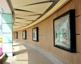 De muur Opgezette Doos Avertising van het Frame van het Aluminium Statische Lichte