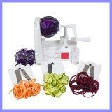 Paderno 3 Blatt-gewundene Gemüsedrehenplastikschneidmaschine