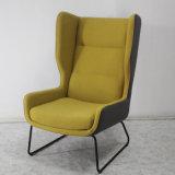 Cadeira clássica da sala de visitas da mobília Home do projeto com pés do metal