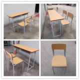 De houten Schoolbank en Chair van Cheap Double (sf-29D)
