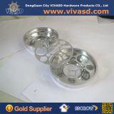 CNC機械化アルミニウムBackplate2 Drilledss砂